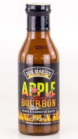 Glazura i sos do grilla 'Apple Chipotle Bourbon' - DON MARCO's, 375 ml